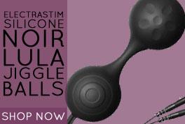 Electrastim Silicone Noir Lula Jiggle Balls