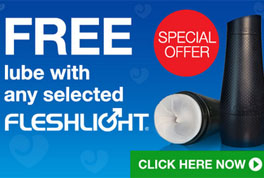 Free Lube with Fleshlight offer