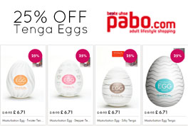 Tenga 25 off eggs
