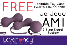 Free toy case with Ami from Lovehoney