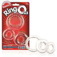 Screaming O RingO 3 Pack Clear