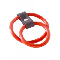 Spartacus Red Dual Rubber Gates Of Hell Cock Ring