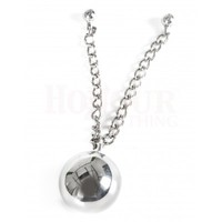 40mm Steel Love Balls with Double Chain