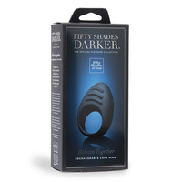 Fifty Shades Darker Release Together USB Rechargeable Cock Ring