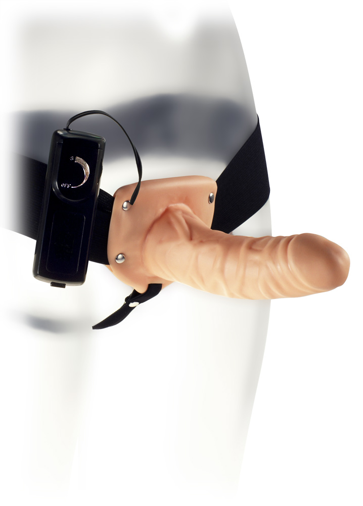 The Extender Hollow Vibrating Strap-On